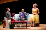Stephaie Janssen as Mrs. Linde, Liv Rooth as Nora and LeRoy McClain as Dr. Rank.  Photo by Carol Rosegg