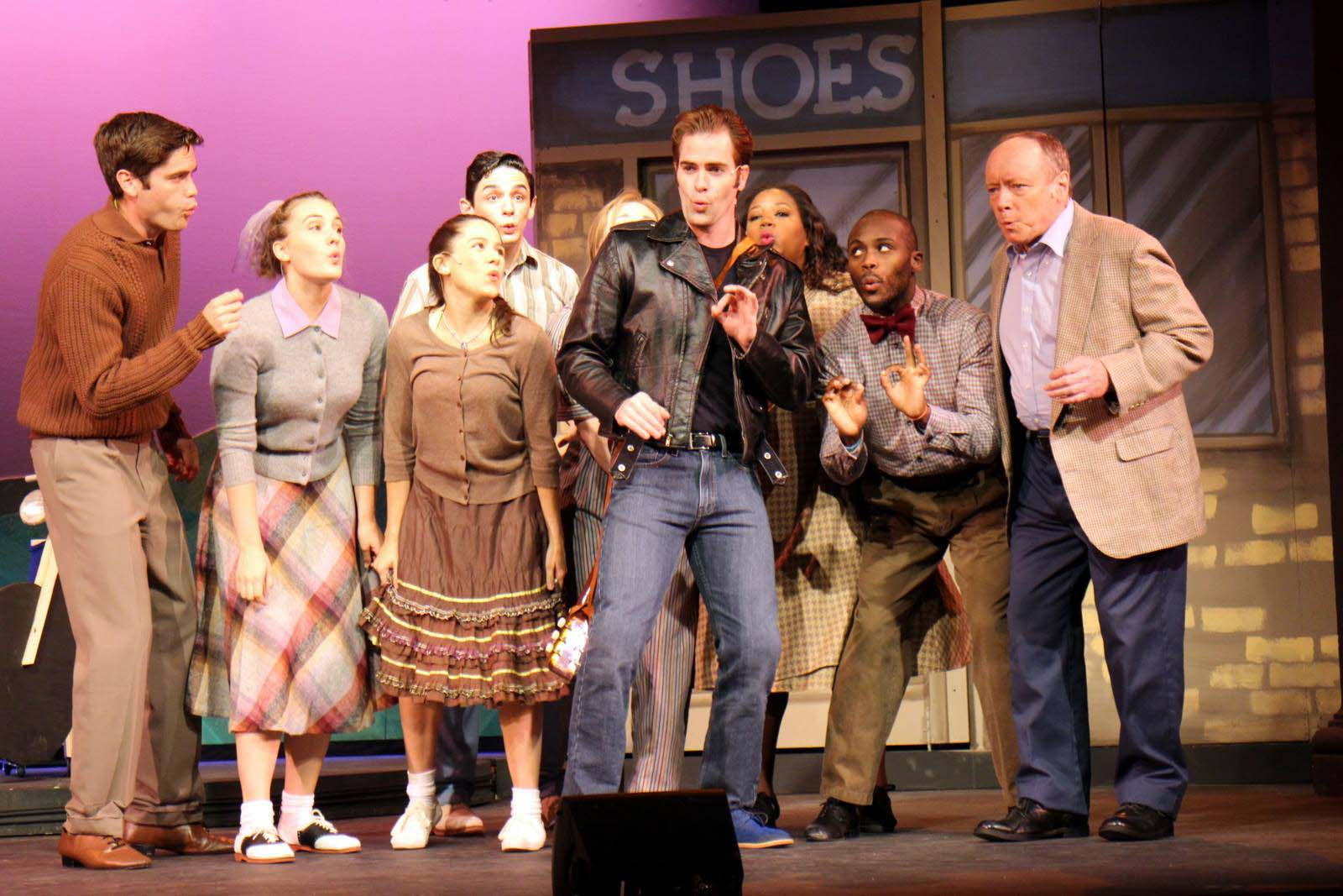 all shook up characters list The 40 singers, dancers and actors of all shook up are belting out the spin each other around the main character in the opening number,.