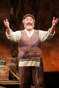 Adam Heller as Tevye. Photo by Diane Sobolewski