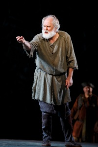 John Lithgow as King Lear. Photo by Joan Marcus