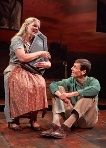 "Helen J. Russell and David M. Lutken from ""Woody Sez"""