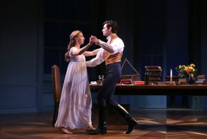 "Thomasina and Septimus Hodge in ""Arcadia"" at Yale Rep. Photo by Joan Marcus"