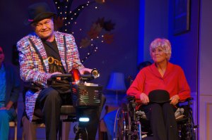 Mickey Dolenz and Joyce DeWitt