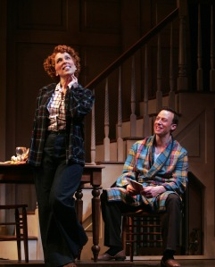 Susan Mosher as Louise and Tally Sessions as Jim.  Photo by Diane Sobolewski