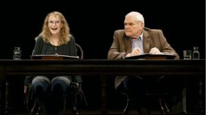Mia Farrow and Brian Dennehy