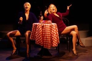 Melissa Carlile-Price and Trisha Rapier.  Photo by Joe Landry