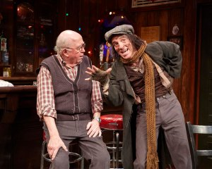 "Tiny Tim is all grown up in ""Christmas on the Rocks"" at TheaterWorks.  Photo by Lanny Nagler"