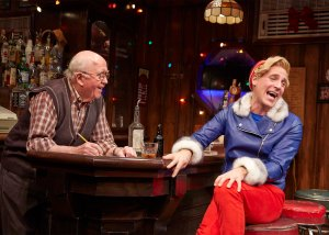 The bartender (Ronn Carroll) and Herbie (Harry Bouvy)