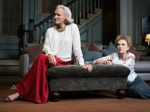 Glenn Close as Agnes and Lindsay Duncan as Claire. Photo by Brigitte Lacombe