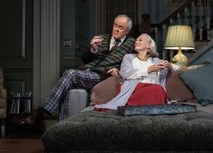 John Lithgow as Tobias and Glenn Close as Agnes. Photo by Brigitte Lacombe