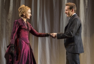 Patricia Clarkson and Alessandro Nivola. Photo by Joan Marcus