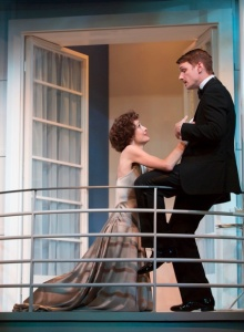 Rachel Pickup as Amanda and Henry Clarke as Victor. Photo by T. Charles Erickson.