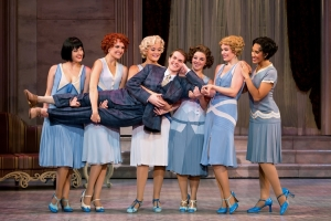 The chorus girls and Alex Enterline. Photo by Jeremy Daniel
