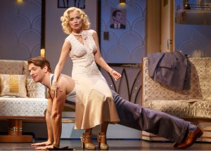 Andy Karl and Kristin Chenoweth. Photo by Joan Marcus