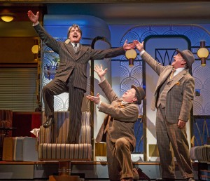 Peter Gallagher, Michael McGrath, Mark-Linn Baker. Photo by Joan Marcus