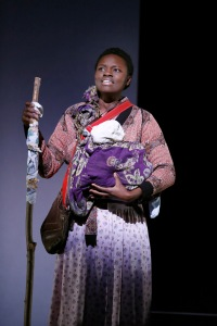 Shaunette Renée Wilson as Grushna. Photo by Carol Rosegg