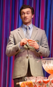 Bryce Pinkham as Peter. Photo by Joan Marcus
