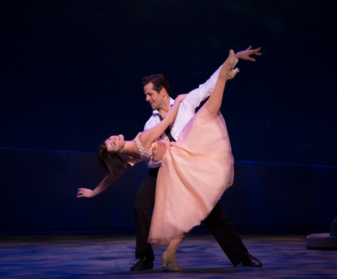 Robert Fairchild and Leanne Cope. Photo by Angela Sterling