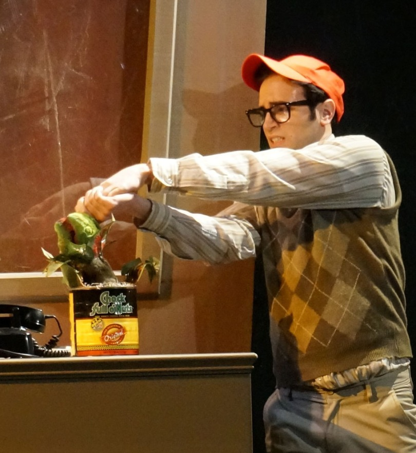 Anthony DiCostanzo as Seymour. Photo by Joe Landry.