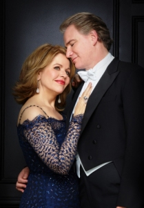 Renee Fleming and Douglas Sills. Photo by Joan Marcus