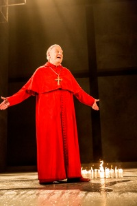 Paul Jesson as Cardinal Wolsey. Photo by Johan Persson