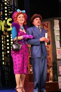 Miss Adelaide and Nathan Detroit. Photo by Diane Sobolewski