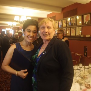 "Ruthie Ann Miles - Outstanding Actress in a Musical for ""The King and I"" with Karen Isaacs"