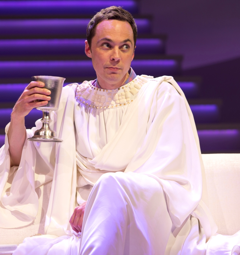 Jim Parsons as God. Photo by Jeremy Daniel