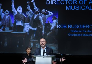 Rob Ruggiero - Outstanding Director of a Musical. Photo by Mara Lavitt