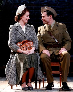 Brenda Meaney and Matthew Greer as Helen and Norman. Photo by Carol Rossegg