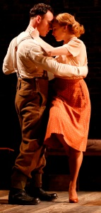 Jenny Leona and John Skelley as Joyce and Eric. Photo by Carol Rosegg