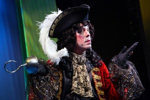 Terrence Mann as Captain Hook. Photo by Gerry Goodstein