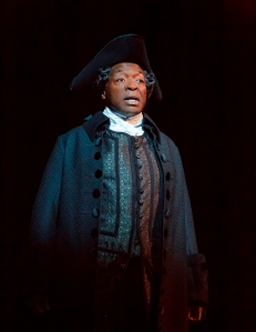 Chuck Cooper as Pakutch/Thomas. Photo by Joan Marcus.