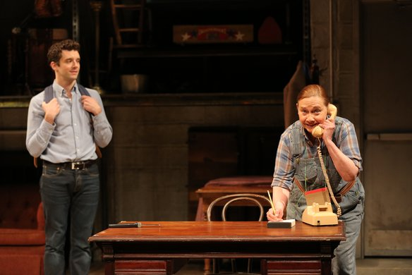Michael Urie and Dale Soules