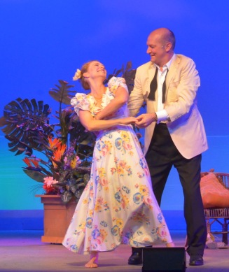 Nellie (Adrianne Hick) and Emile (David Pittsigner). Photo by Roger U. Williams