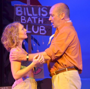 Adrianne Hick as Nellie and David Pittsinger as Emile. Photo by Roger U. Williams