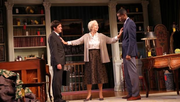 Joe Paulik, Maureen Anderman and Gabriel Brown. Photo by Joan Marcus