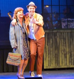 Melodie Wolford as Gladys with her son Huey played by Carson Higgins