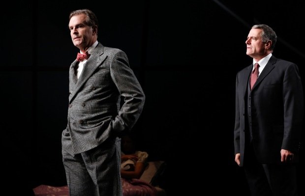 SJohn Hillner as Stanton Case and Steven Skybell as Phillip Gellburg. Photo by Carol Rosegg