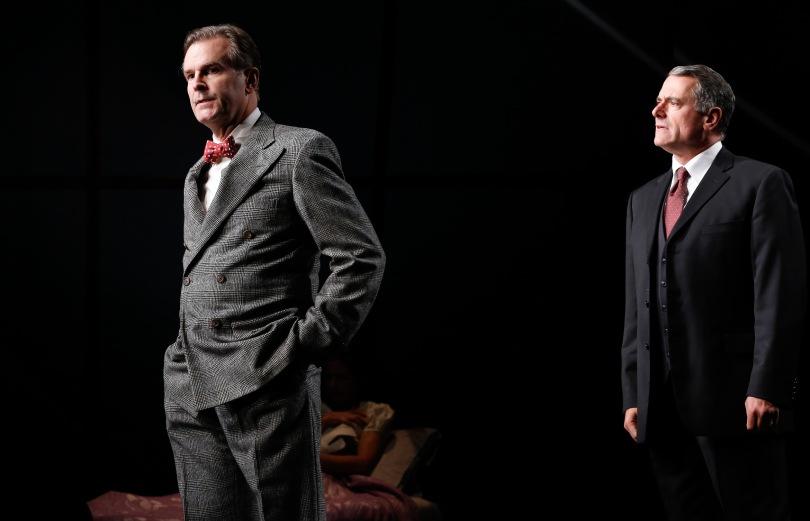 SJohn Hillner as Stanton Case and Steven Skybell as Phillip Gellburg. Photo by Carol Rosegg