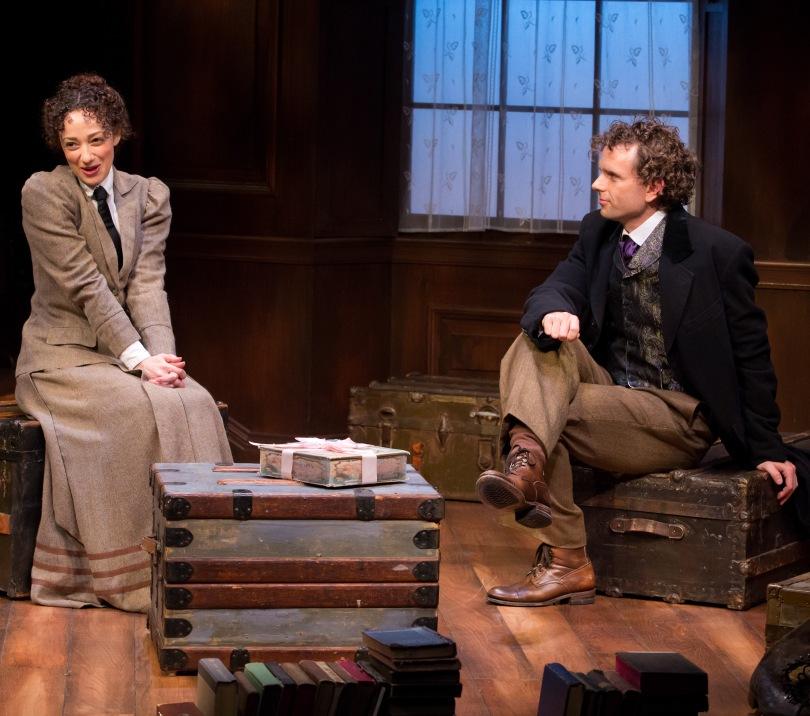 Megan McGinnis and Paul Alexander Tobin.  Photo by Jeremy Daniel