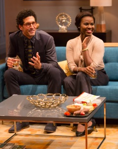 Benim Foster and Shirine Babba as Isaac and Jory. Photo by T. Charles Erickson.