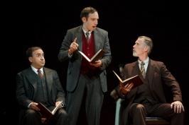 Steven Rattazzi, Max Gordon Moore, and Tom Nelis Photo by Carol Rosegg,