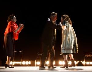 Mimi Lieber, Tom Nelis, and Adina Verson Photo by Carol Rosegg