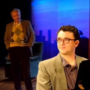 Chris Richards as Mitch Albom. Photo by Meredith Atkinson.