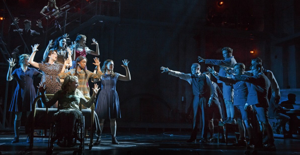 "The cast of ""Spring Awakening"". Photo by Joan Marcus"