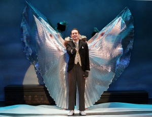 Frank Vlastnik as Clarence. Photo by Diane Sobolewski