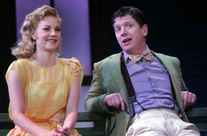 Kristen Scott as Mary and Duke Lafoon as George. Photo by Diane Sobolewski