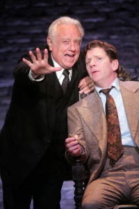 Ed Dixon as Mr. Potter and Duke Lafoon as George. Photo by Diane Sobolewski
