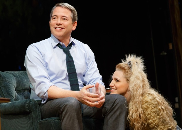 Matthew Broderick and Annaleigh Ashford. Photo by Joan Marcus